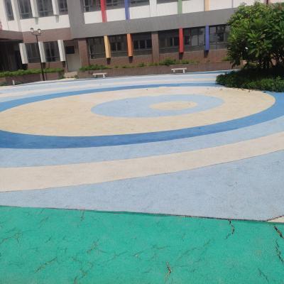 珠江嘉苑幼儿园塑胶跑道