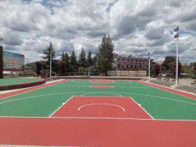 室外塑胶篮球场每平米什么价格